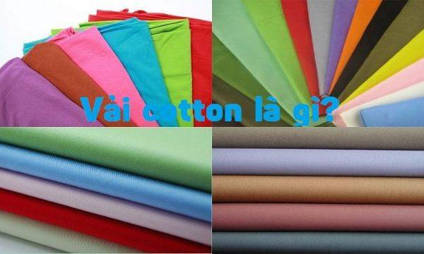 Vải cotton là gì