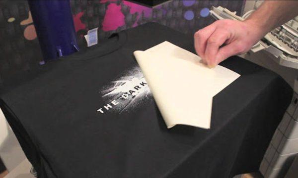sử dụng giấy in chuyển nhiệt